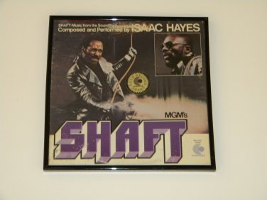 Isaac Hayes- Shaft - Framed Vintage Record Album Cover � 0242