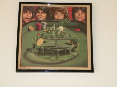 Pablo Cruise- Part Of The Game  - Framed Vintage Record Album Cover � 0245