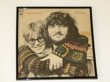 Delaney & Bonnie - D & B Together - Framed Vintage Record Album Cover � 0246