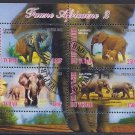 Chad Postage Stamps - Elephants Souvenir Sheet
