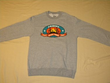 Arizona - Gray - Small - New Sweatshirt