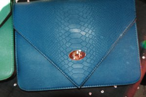 Envelope Clutch/crossover bag
