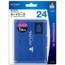 PS Vita Official Licenced Card Case for 24 Cards Hori Blue