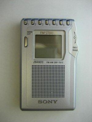 SONY SRF-T615 Radio Synthesizer Tuner Built-in Speaker International Warranty