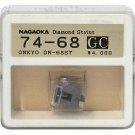 Nagaoka Diamond Stylus GC74-68 for Onkyo DN-68ST
