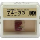 Nagaoka Diamond Stylus GC74-33 for Onkyo DN-33