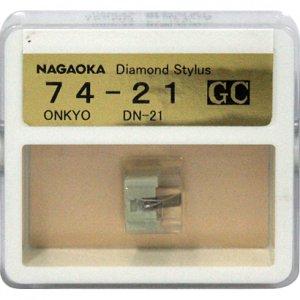 Nagaoka Diamond Stylus GC74-21 for Onkyo DN-21