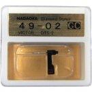 Nagaoka Diamond Stylus GC49-02 for Victor DTS-2
