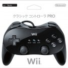 Nintendo Wii Genuine Classic Controller PRO Black