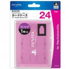 PS Vita Official Licenced Card Case for 24 Cards Hori Pink