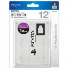 PS Vita Official Licenced Card Case for 12 Cards Hori White