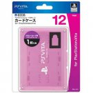 PS Vita Official Licenced Card Case for 12 Cards Hori Pink