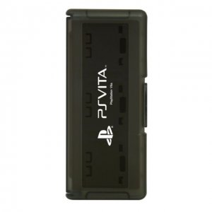 PS Vita Official Licenced Card Case for 6 Cards Hori Black