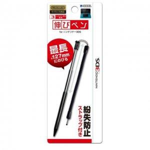 Nintendo 3DS Official Licensed Extendable Stylus Pen Extensible Strap Black