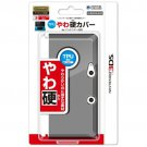 Nintendo 3DS Official Licensed TPU Soft Solid Cover Jacket Clear Black