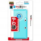 Nintendo 3DS Official Licensed TPU Soft Solid Cover Jacket Clear Blue