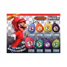 Super Mario Bros Wii Game Sound Soundrop Effect Sound Box 8 pcs Set Rare Mint!