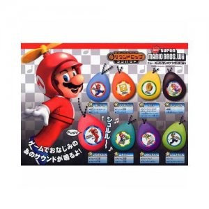 Super Mario Bros Wii Game Sound Soundrop Effect Sound Box 8 pcs Set Rare Mint!