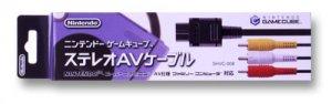 Nintendo Game Cube Gamecube Genuine Stereo AV Cable Output New