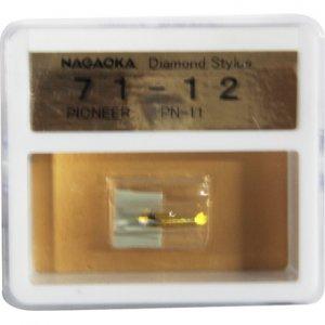 Nagaoka Diamond Stylus G71-12 for Pioneer PN-11 & C-250