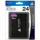 PS Vita Official Licenced Card Case for 24 Cards Hori Black