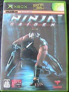 XBOX Ninja Gaiden JPN VER Used Excellent Condition