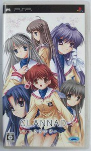 PSP Clannad JPN VER Used Excellent Condition