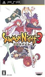 PSP Summon Night 3 JPN VER NEW