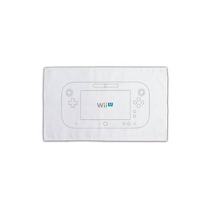 Nintendo Wii U Officially Licensed Cleaning Cloth Pika-Fuki Micro Fiber White