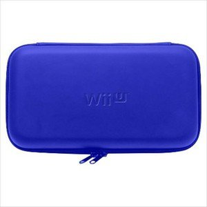 Nintendo Wii U Game Pad Official Licenced Hori EVA Hard Pouch Blue