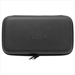 Nintendo Wii U Game Pad Official Licenced Hori EVA Hard Pouch Black
