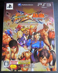 PS3 Street Fighter X Collector's Pack JPN VER Used Excellent Condition