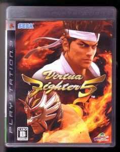 PS3 Virtua Fighter 5 JPN VER Used Excellent Condition