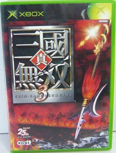 XBOX Shin Sangoku Musou 3 JPN VER Used Excellent Condition