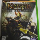 XBOX Kingdom Under Fire The Crusaders JPN VER Used Excellent Condition