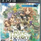 PS3 Rune Factory Oceans JPN VER Used Excellent Condition
