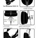 Oyaide HPC-HD25 Headphone Lead Cable 1.2m Sennheiser HD25-1 II Black