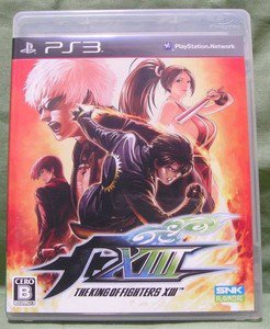 PS3 King of Fighters XIII JPN VER Used Excellent Condition