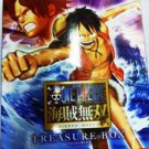 PS3 One Piece Kaizoku Musou Treasure BOX JPN VER Used Excellent Condition