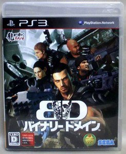 PS3 Binary Domain JPN VER Used Excellent Condition