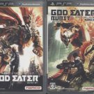 PSP God Eater & God Eater Burst JPN VER Used Excellent Condition