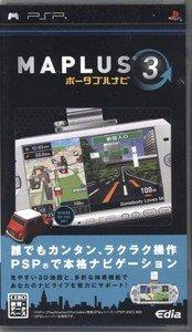 PSP Maplus Portable Navi 3 JPN VER Used Excellent Condition