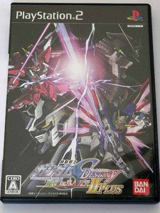 PS2 Mobile Suit Gundam Seed Destiny Rengou vs. Z.A.F.T. II Plus JPN VER