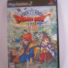 PS2 Dragon Quest VIII PlayStarion 2 Sky Sea Earth Cursed Princess Used Excellent