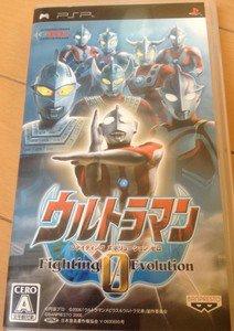 PSP Ultraman Fighting Evolution 0 Portable JPN VER Used Excellent