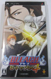PSP Bleach Heat the Soul 4 JPN VER Used Excellent Condition