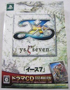 PSP Ys Seven JPN Ltd VER Used Excellent Condition