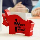 Bull OX Model Note Pad Clip Holder Pen Scissors Office Creative Stationery
