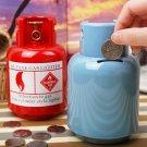 Gas Container Bank Box Money Saving Coin Box Creative Gadget