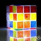 Glaring LED Light Novel Brain Teaser Magic Rubik Rubik's Cube IQ Puzzle Toy